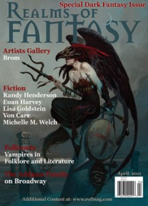 Realms of Fantasy April Cover