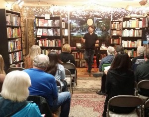 Randy at Gatsby Books