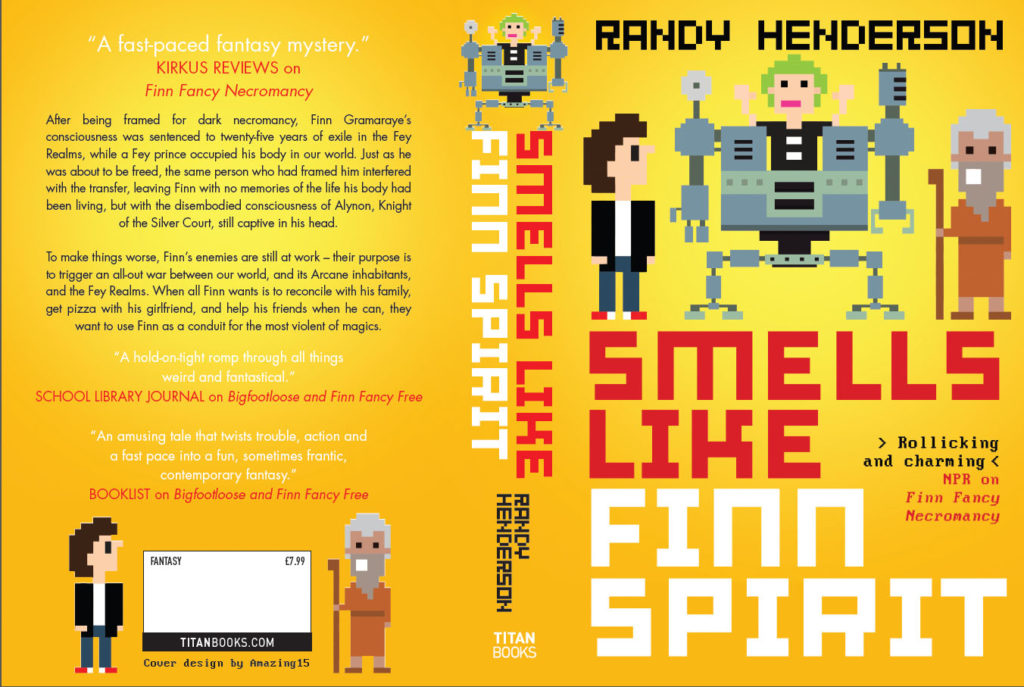Smells Like Finn Spirit UK Cover
